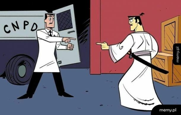 Profesor Atomus i Samuraj Jack