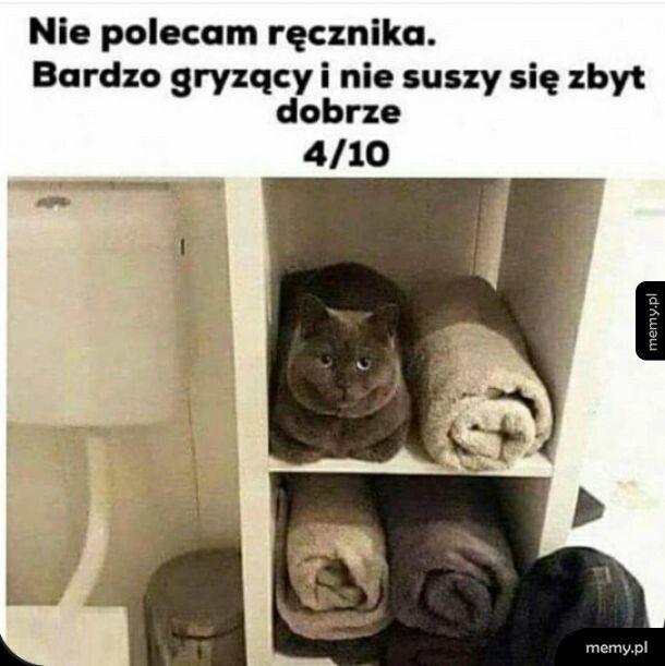 Dziwny ten ręcznik