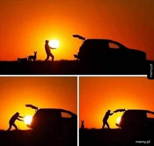Ktoś ukradł słońce