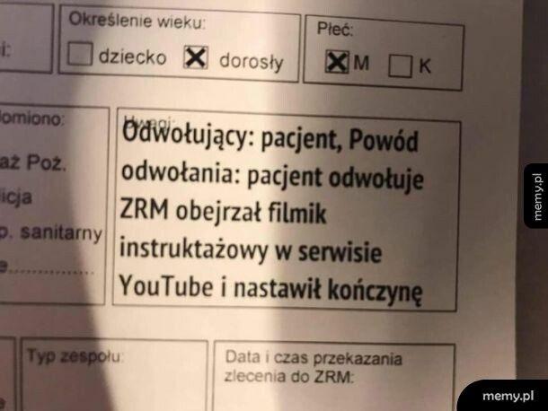 Filmik instruktażowy