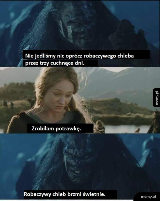 A biedny Aragorn to spróbował.