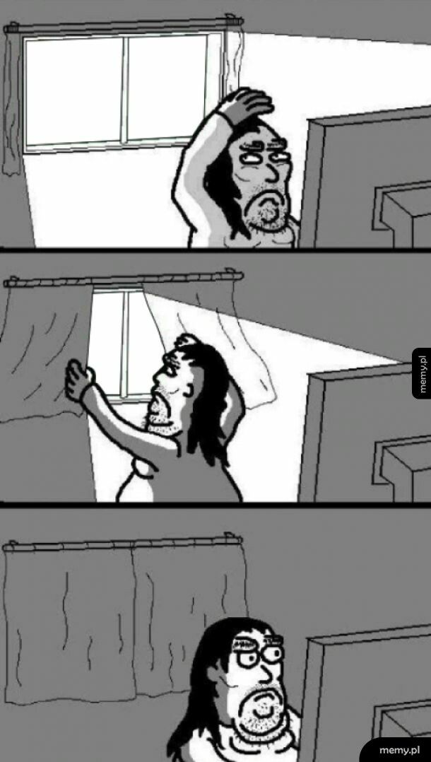Kiedy jakiś głupek błyska ci w okno superlatarką