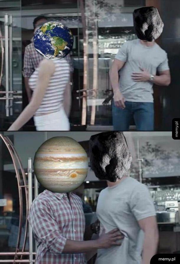 Jowisz ochrania