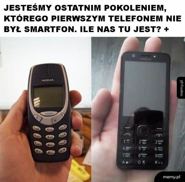 Pierwszy telefon
