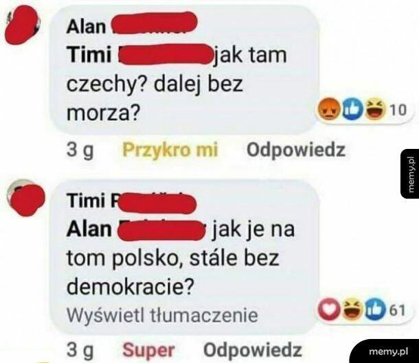 Jak tam w Polsce?