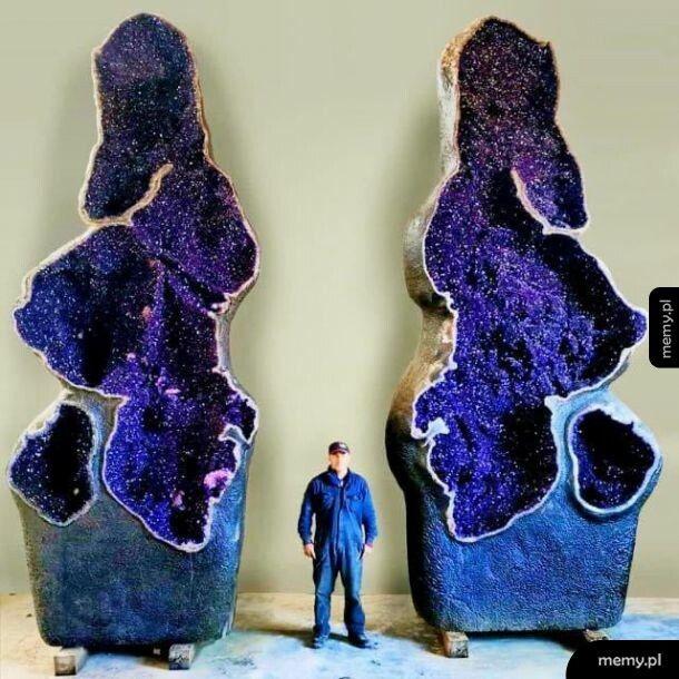 Ciekawy kamień #3 Olbrzymia geoda ametystowa
