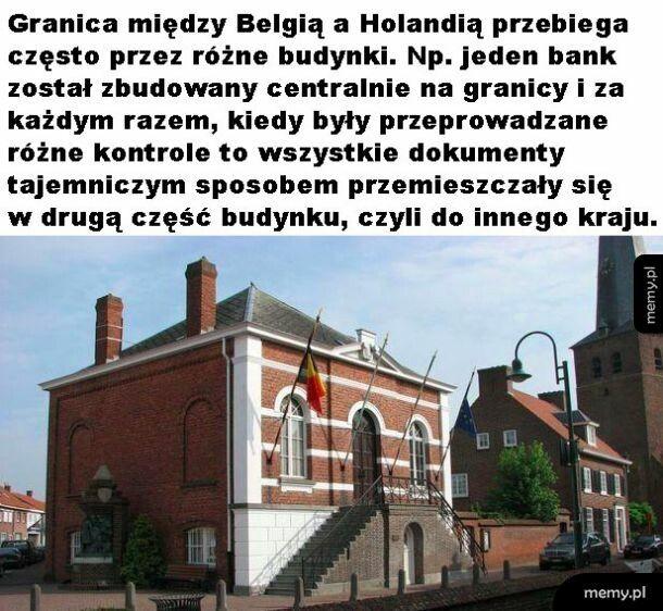 Granica miedzy Belgią a Holandią