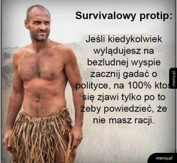 Survivalowy protip