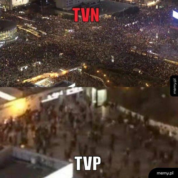 Masowa demonstracja w Warszawie.. Znaczy, zależy kogo zapytacie