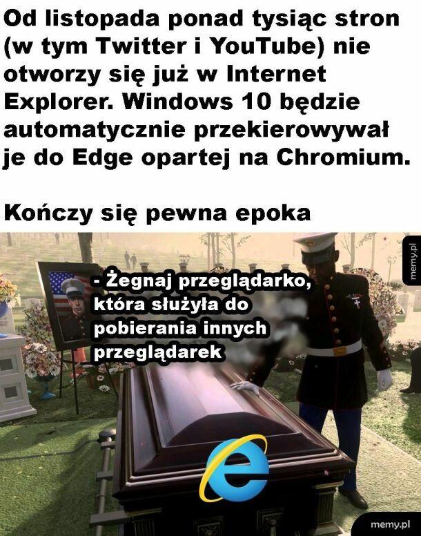 Rip Internet Explorer