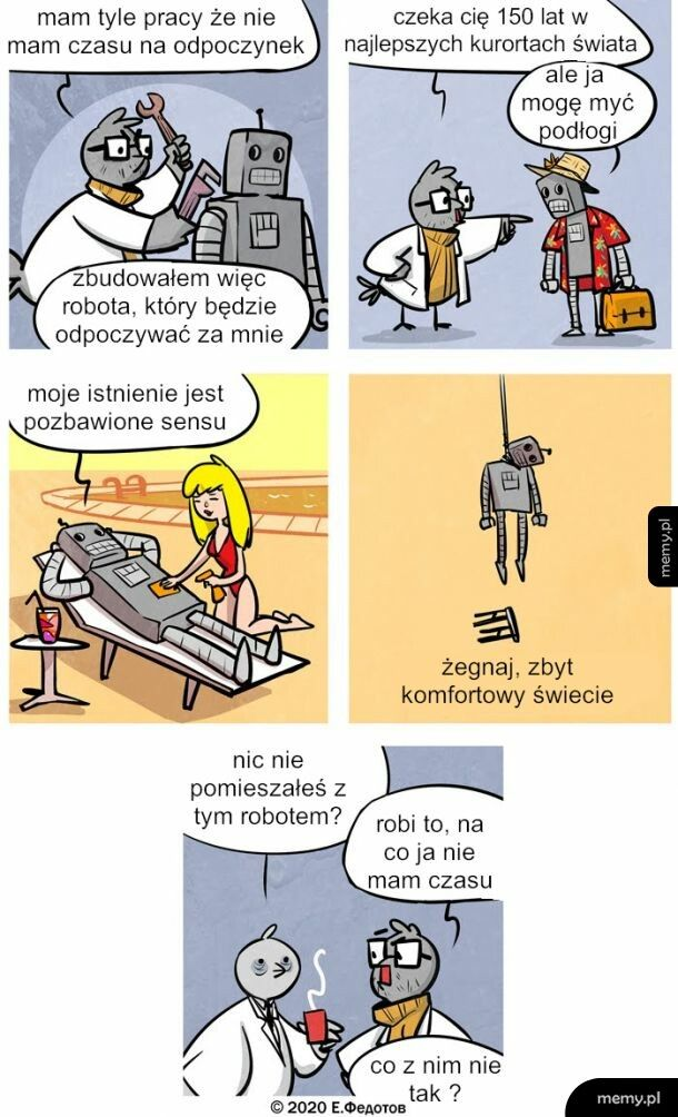 Życie Robota