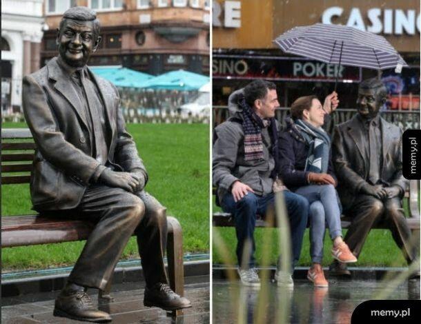 Anglicy postawili pomnik Jasia Fasoli