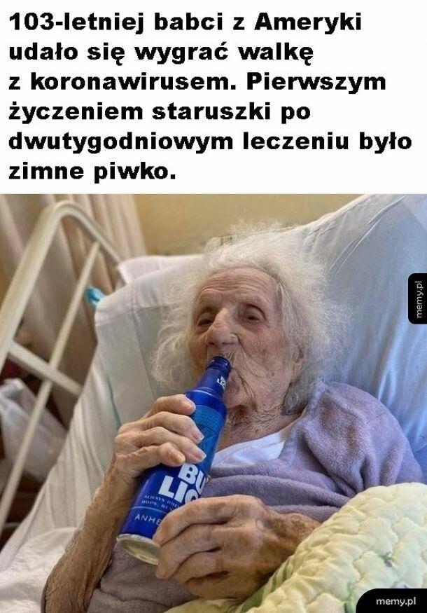 Życzenie staruszki