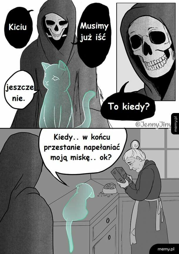 Kicia i Śmierć