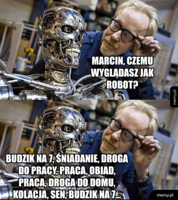 Takie życie biorobota