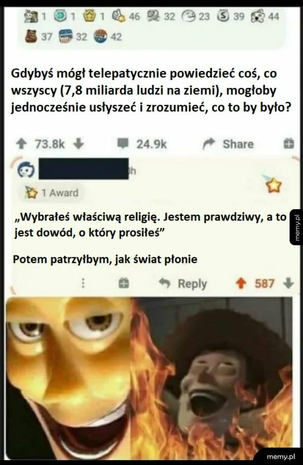 Co to by było..?