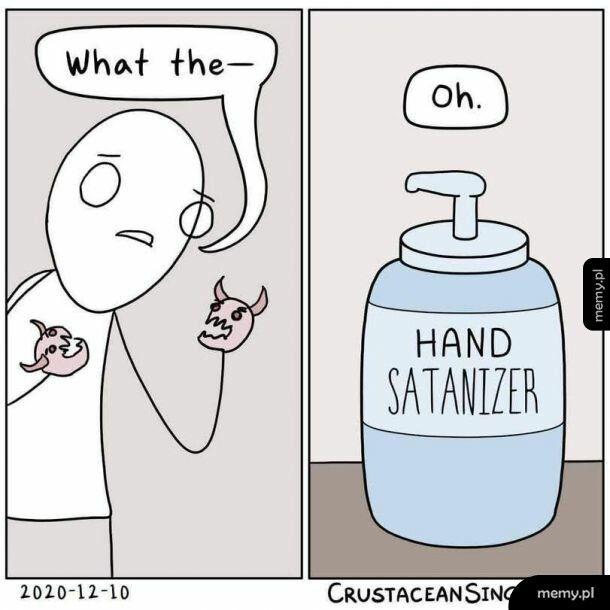 Satanajzer do rąk