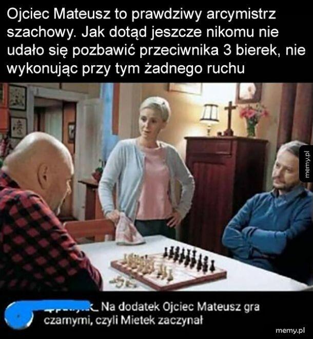 Prawdziwy mistrz, nie to co Bobby Fischer