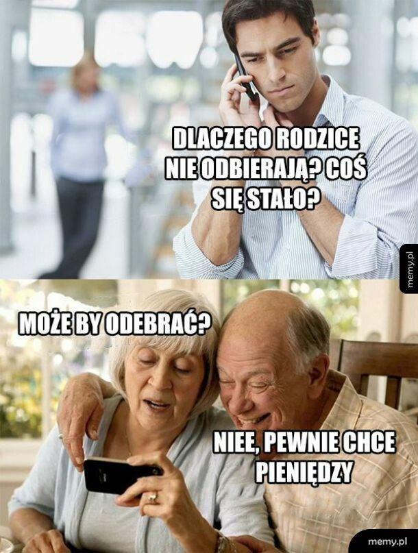 Telefon do rodziców