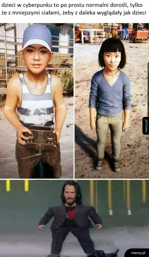 Dzieci w Cyberpunku