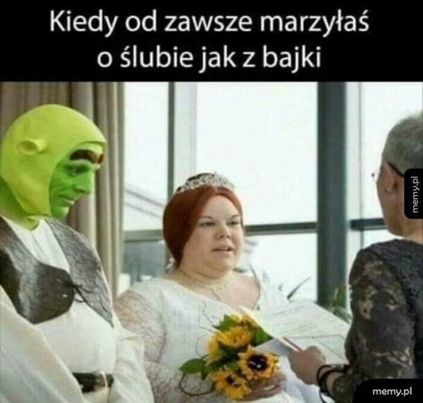 Ślub z bajki
