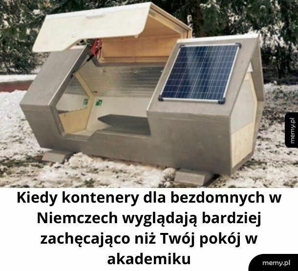 Bo bezdomny w Niemczech jest cenniejszy niż student w Polsce