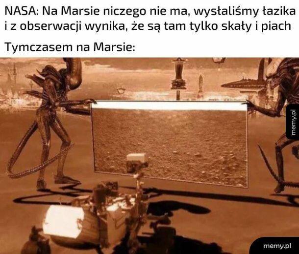 Obserwacje na Marsie