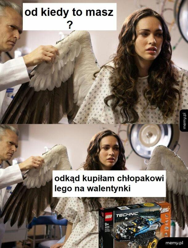 Anioł a nie kobieta