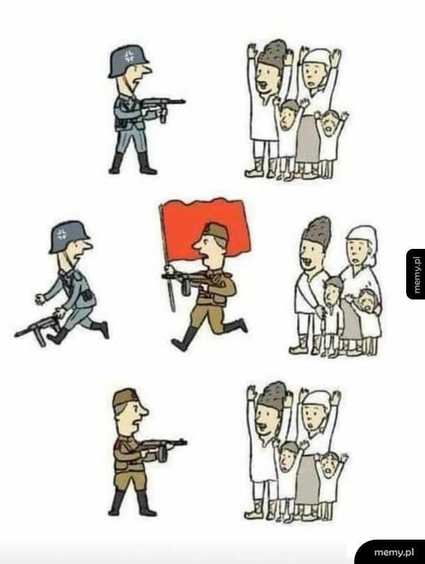 II wojna światowa w 3 obrazkach
