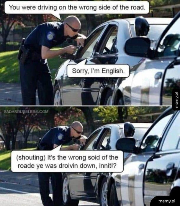 What a nice policeman