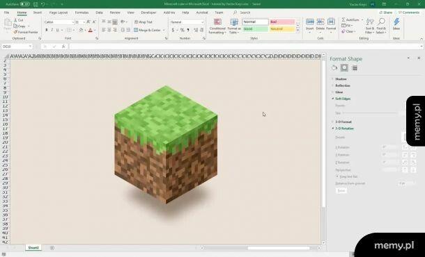 Zabawa w Excelu