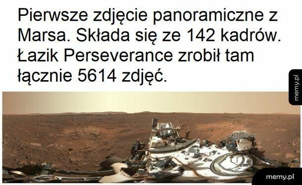 Dużo zdjęć z Marsa