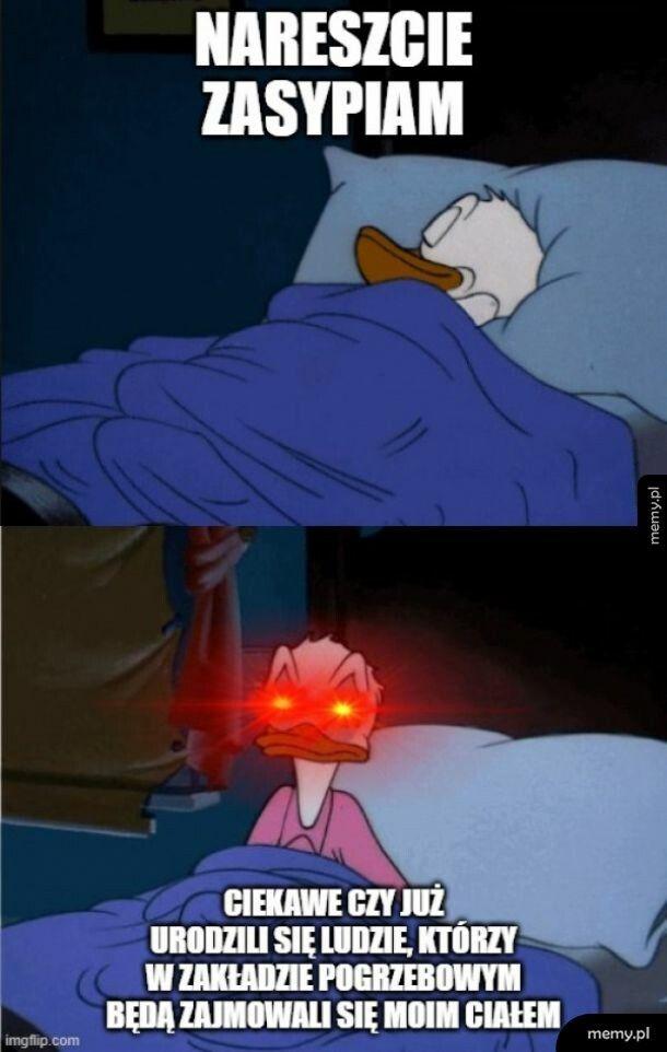 Myśli przed snem