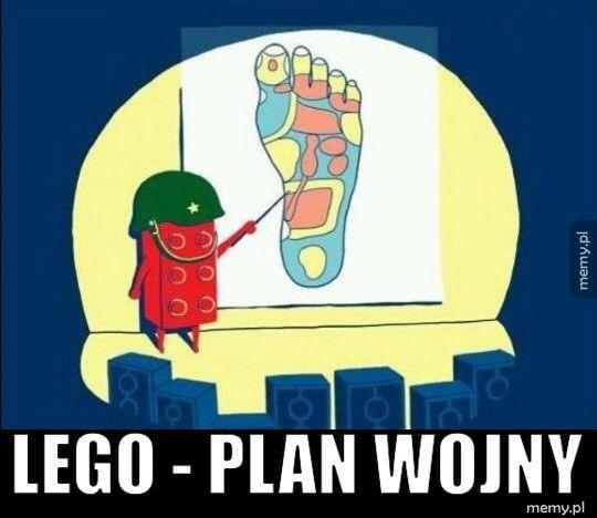 Lego - plan wojny