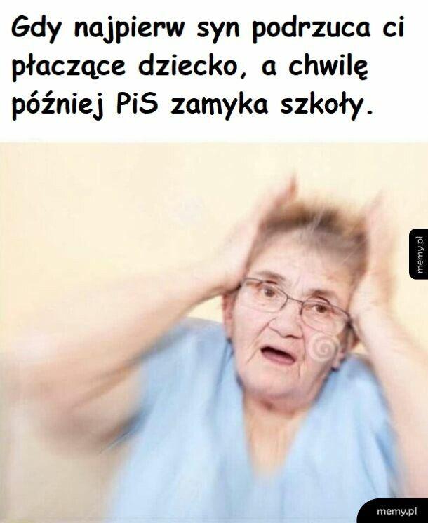 Biedna babcia..