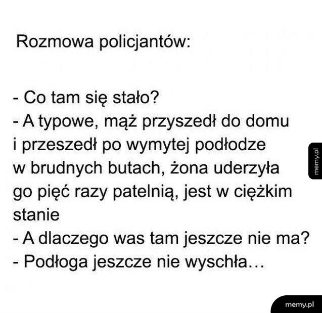 Rozmowa policjantów