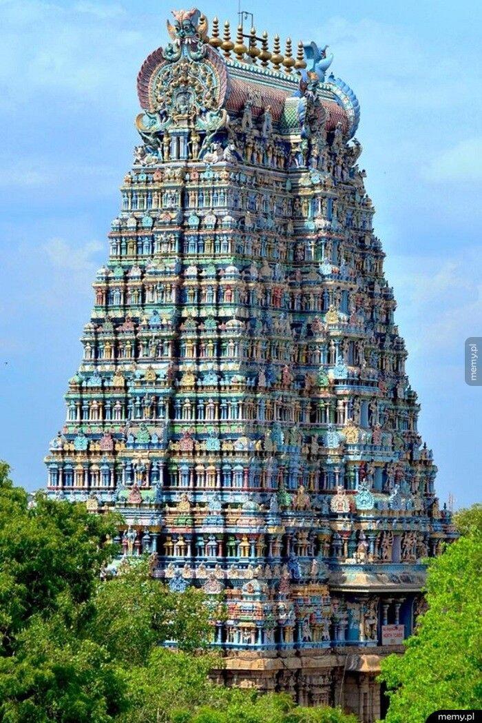 Świątynia Meenakshi, Indie