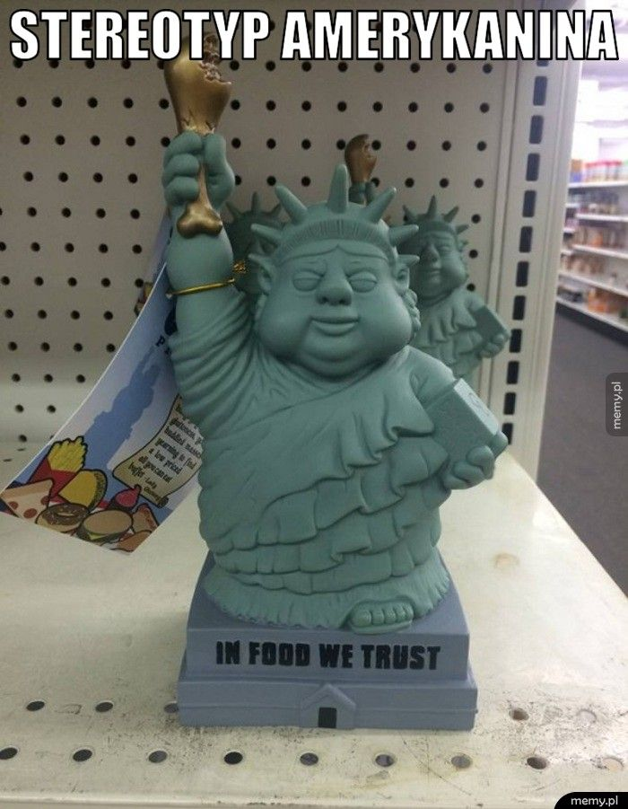 Stereotyp Amerykanina.