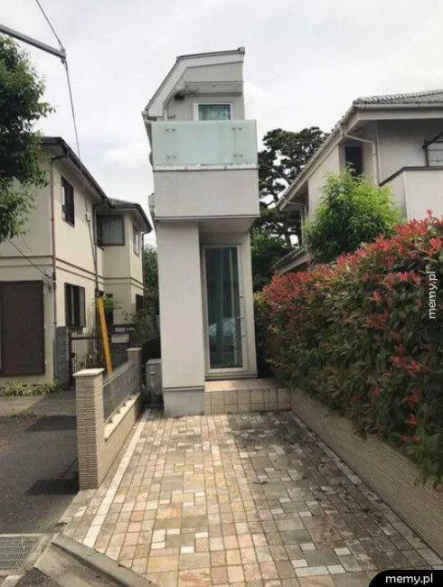 Nietypowy dom w Japonii