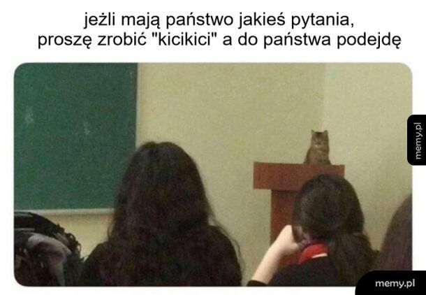 Chciałbym mieć takiego wykładowcę