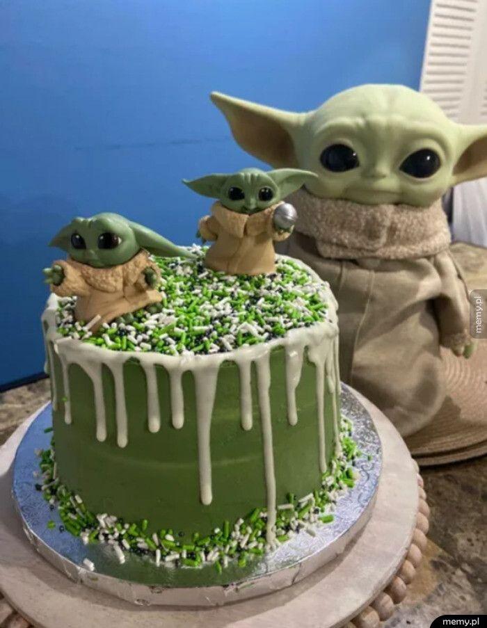 Tort Baby Yoda