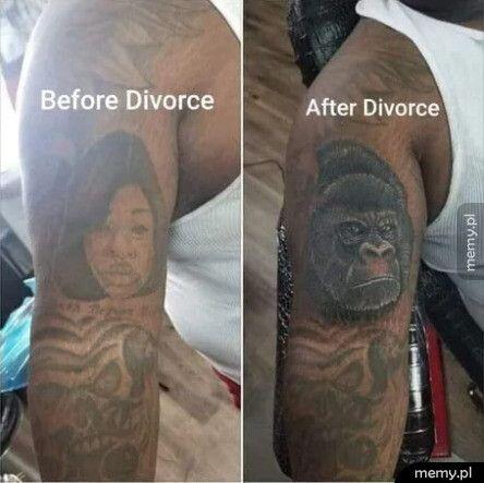 Przed rozwodem i po