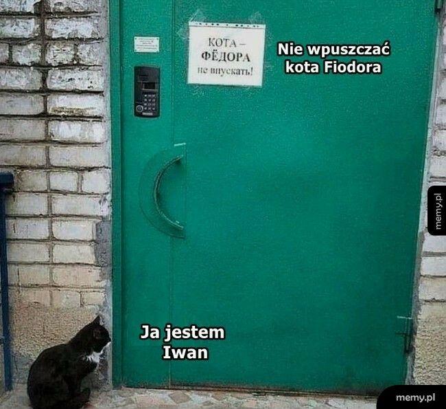 Nie jestem Fiodorem