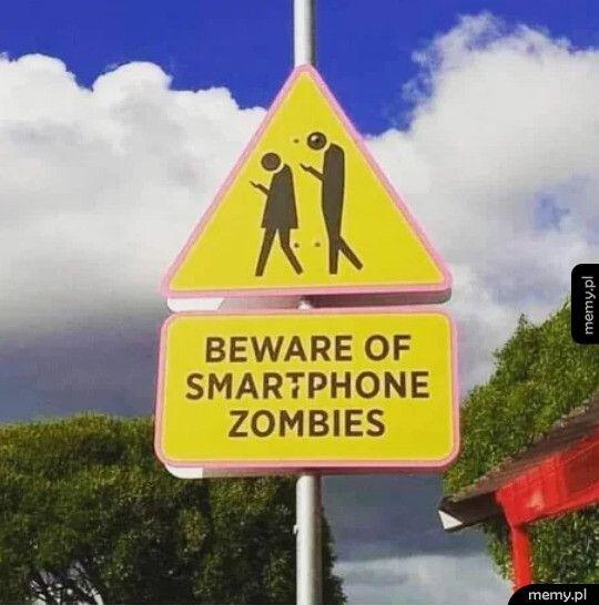 Świt smartfonowych zombie