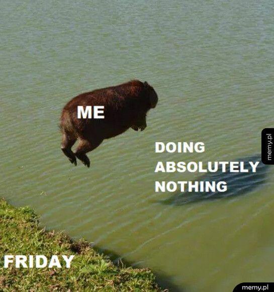 Tradycyjnie w weekend
