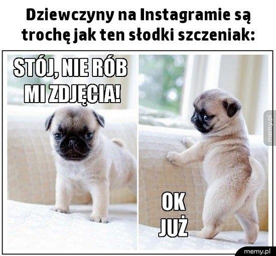 Dziewczyny na instagramie