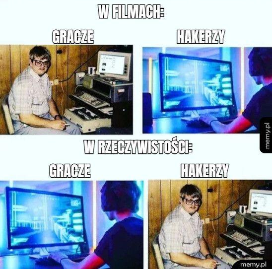 Hakerzy vs gracze