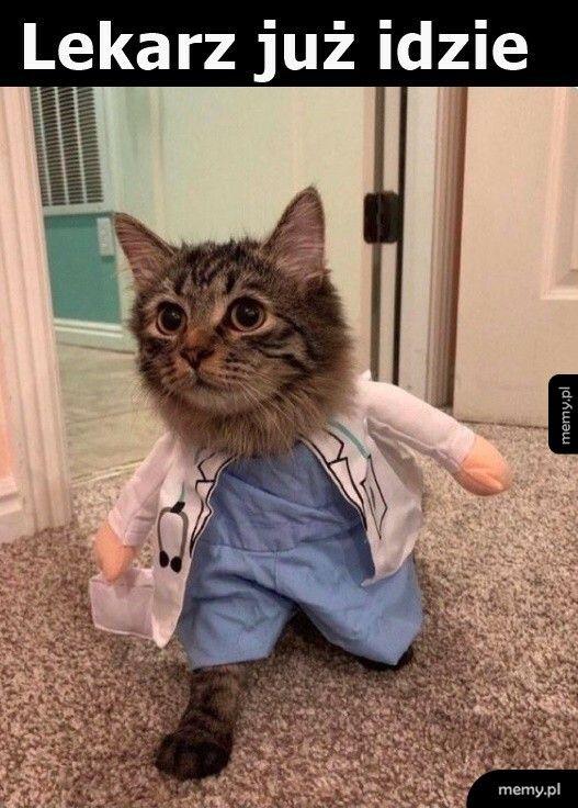 Lekarz już idzie
