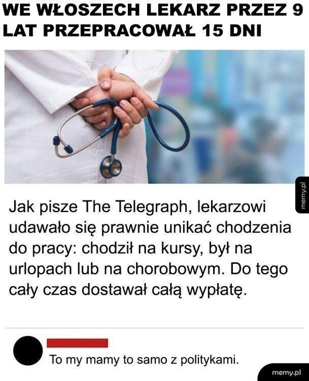 Lekarz cwaniaczek