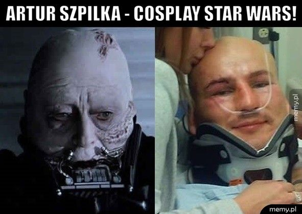 ARTUR SZPILKA - COSPLAY STAR WARS!